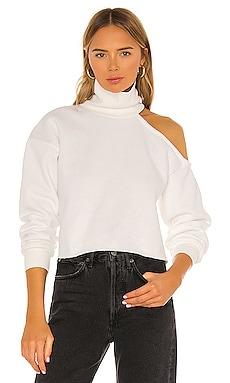 Cut Out Turtleneck Sweatshirt Lovers + Friends $55