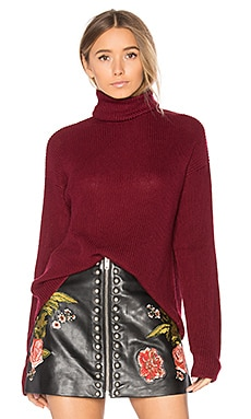 x REVOLVE Tia Sweater in Raspberry