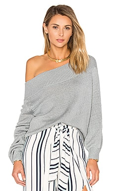 Fun Seeker Sweater in Light Grey