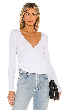 Malia Wrap Sweater Lovers + Friends $108