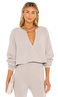 Deep V Neck Sweatshirt Lovers + Friends $158