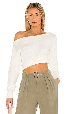 Milena Off Shoulder Sweater Lovers + Friends $158