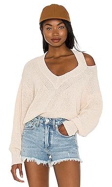 Miranda Cut Out Sweater Lovers + Friends $71