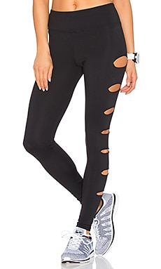 Lovers + Friends WORK by Lovers + Friends In A Flash Legging en Noir