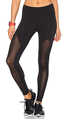 WORK by Lovers + Friends Sprinter Mesh Legging in Black