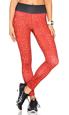 WORK by Lovers + Friends Runyon Legging in Snake