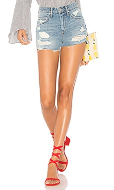 Lovers + Friends Jack High Short in Westerly Wash