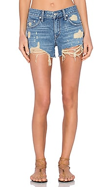 Lovers + Friends Dylan Boyfriend Short in Miramar