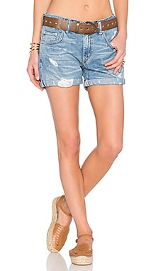 Lovers + Friends Dylan Boyfriend Short in Oakwood