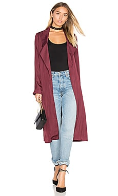x REVOLVE Jackson Duster in Wine