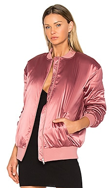 x REVOLVE My Lover Bomber in Rose