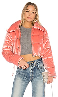 Dee Cropped Puffer Lovers + Friends $168