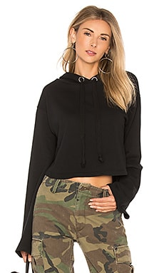 x REVOLVE Alma Cropped Hoodie Lovers + Friends $53