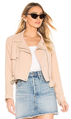 Smoke Moto Jacket Lovers + Friends $64