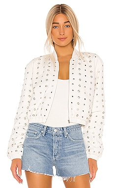 Kimber Bomber Jacket Lovers + Friends $149