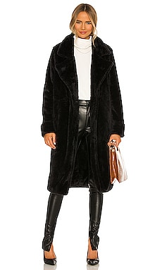 Teddy Fur Coat Lovers + Friends $328 NEW