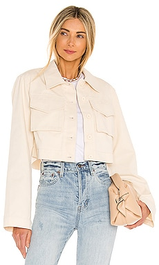 Angeles Cropped Jacket Lovers + Friends $178