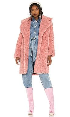 Niki Faux Fur Coat Lovers + Friends $348