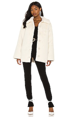 Natalia Faux Fur Jacket Lovers and Friends $328 NEW