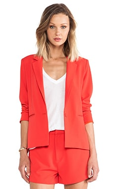 Lovers + Friends Be By My Side Blazer in Poppy