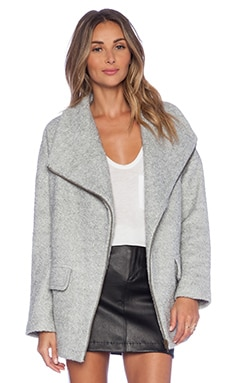 Lovers + Friends x REVOLVE Merci Coat in Grey