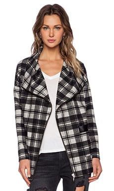 Lovers + Friends Merci Coat in Plaid
