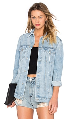 Lovers + Friends James Denim Jacket in Solana