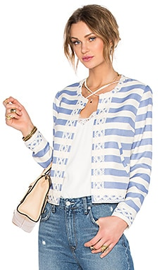 Lovers + Friends Duchess Jacket in Nautical Stripe