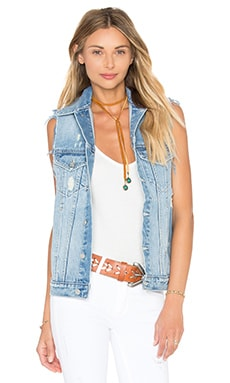 Ashton Denim Vest in Solana