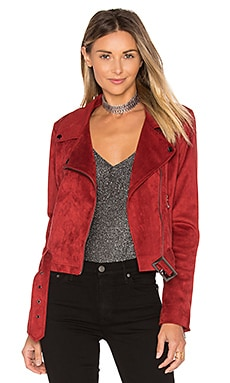 Grant Jacket in Burgundy