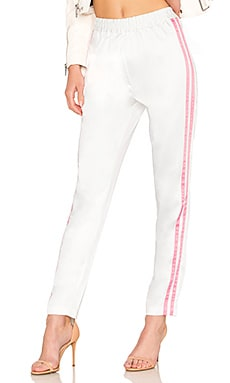 Tailored Track Trouser in Rose. - size M (also in L,S,XS) Lovers + Friends