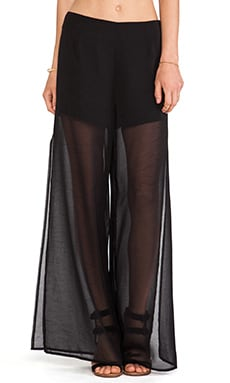 Lovers + Friends Scorpio Pants in Black