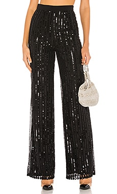 Nina Sequin Pants Lovers + Friends $298
