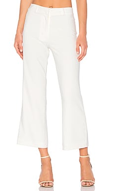 PANTALON CROPPED FLARE TOP COP