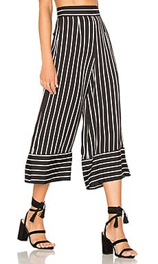 x REVOLVE Chica Cropped Pants in Stripe
