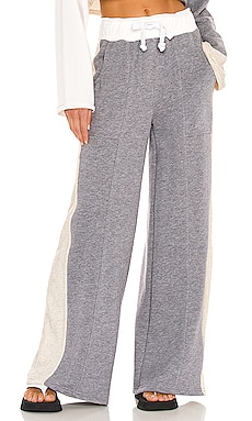 Blocked Wide Leg Jogger Lovers + Friends $168 NOUVEAU