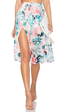 Right Now Skirt in Paradise Floral