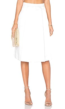x REVOLVE The Manhattan Skirt in White