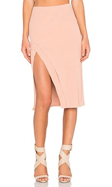 Lovers + Friends x REVOLVE Kelsey Skirt in Beige