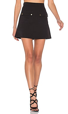 x REVOLVE Sienna Skirt in Black