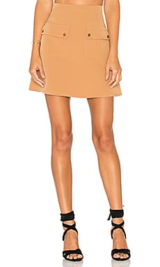 Lovers + Friends x REVOLVE Sienna Skirt in Camel