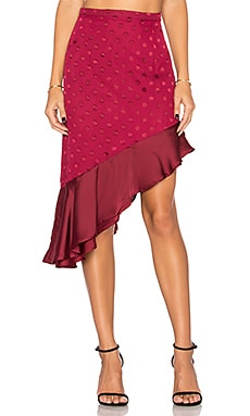 Rhapsody Skirt in Raspberry
