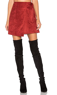 Lea Skirt in Burgundy