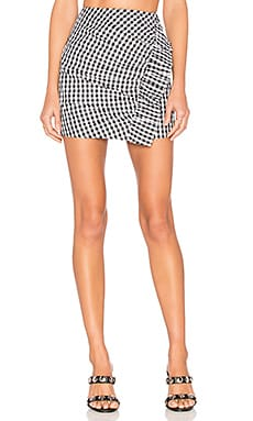 x REVOLVE Lisa Skirt in Gingham