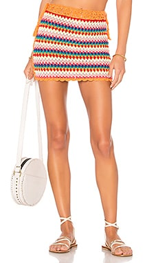 Over The Rainbow Skirt Lovers + Friends $128