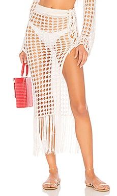 FALDA CROCHET MAXI STELLAR Lovers + Friends $136