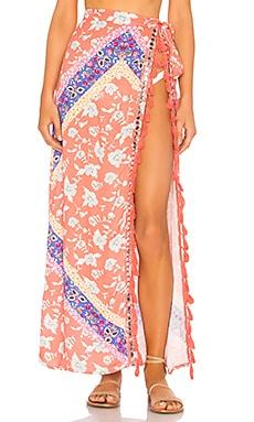 Lady Wrap Skirt Lovers + Friends $71