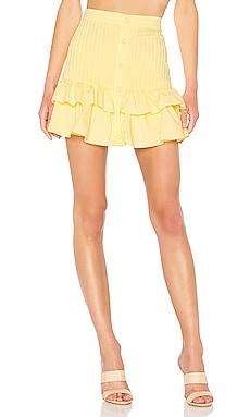 Beau Mini Skirt Lovers + Friends $91