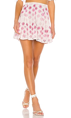 Hugh Mini Skirt Lovers + Friends $107