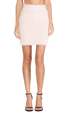 Lovers + Friends Dolly Skirt in Powder Pink